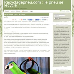 All posts tagged 'recyclage-pneu'