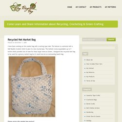 Recycled Net Market Bag