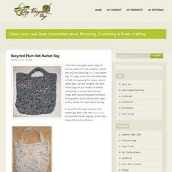 Recycled Plarn Net Market Bag