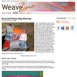 WeaveZine: Learn How to Weave: Free Weaving Projects, Podcasts, and More!