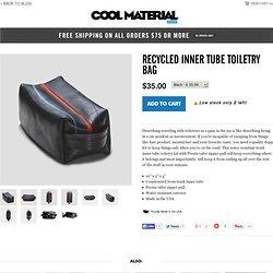 Recycled Inner Tube Toiletry Bag