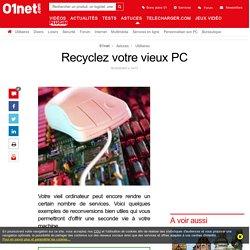Recyclez votre vieux PC