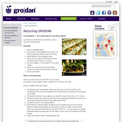 Recycling GRODAN