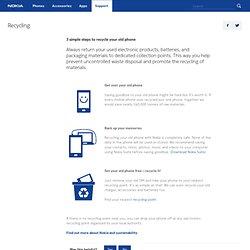 Recycling - Nokia - Australia