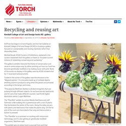 Recycling and reusing art - The Ferris State Torch