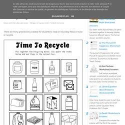 30 Recycling Worksheet For Kids - Free Worksheet Spreadsheet