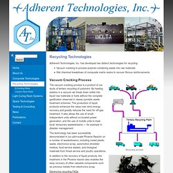 Recycling Technologies - Adherent Technologies