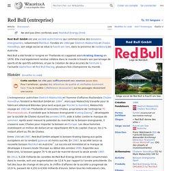 Red Bull (entreprise)