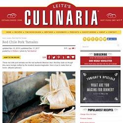 Red Chile Pork Tamales Recipe