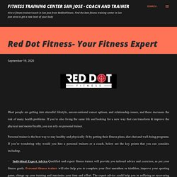 Red Dot Fitness- Your Fitness Expert