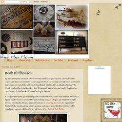 Book Birdhouses