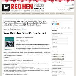 Red Hen Press Poetry Award