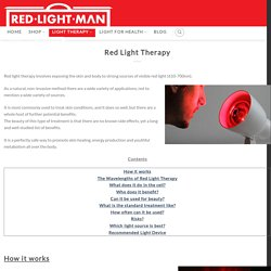 Red Light Therapy - Red Light Man