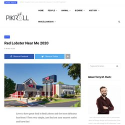 Red Lobster Near Me 2020