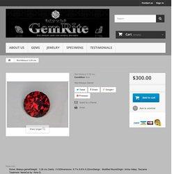 Red Malaya 3.29 cts. - GemRite