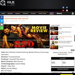 RED MOVIE REVIEW AND RATING