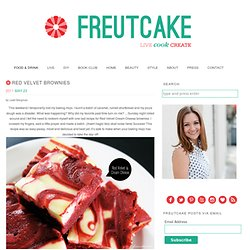 Craving: Red Velvet Brownies - freutcake | freutcake - StumbleUpon