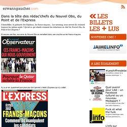 L'actu media web - Dans la tête des rédac'chefs du Nouvel Obs, du Point et de l'Express