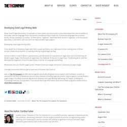 Consejos para mejorar la redacción de documentos jurídicos