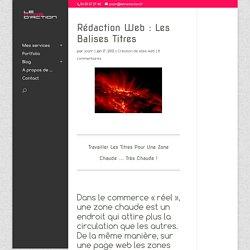 Rédaction web : les balises titres - Le Krédaction