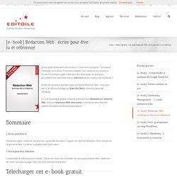[e-book] Rédaction web : écrire pour être lu et référencé