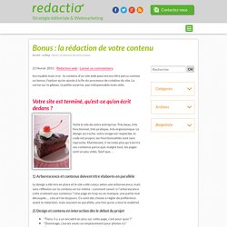 Agence éditoriale Redactio, blog