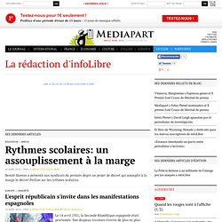 La rédaction d'infoLibre