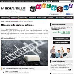 Rédaction de contenu optimisé