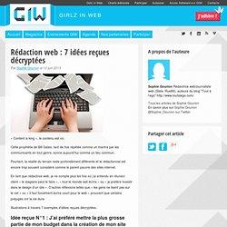Rédaction web : 7 idées reçues décryptées