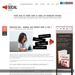 Rédaction web : comment bien rédiger pour le web ?