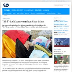 """Bild""-Redakteure streiten über Islam"