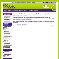 REDCONECTA - San Bartolomé de las Abiertas en Toledo abre un Red Conecta