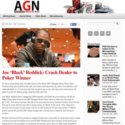 Joe 'Black' Reddick: Crack Dealer to Poker Winner — Gambling News