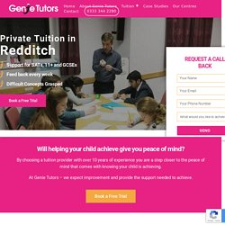Maths Tutor Birmingham- Genie Tutors