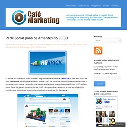 Rede Social para os Amantes do LEGO