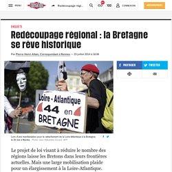 Redécoupage régional : la Bretagne se rêve historique