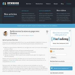 Redécouvrez la mise en page avec Flexbox