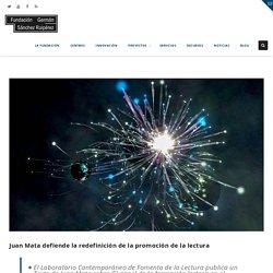 Juan Mata defiende la redefinición de la promoción de la lectura – Fundación Germán Sánchez Ruipérez