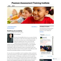 Pearson Assessment Training Institute