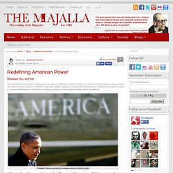 Redefining American Power | The Majalla