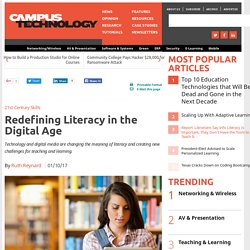 Redefining Literacy in the Digital Age