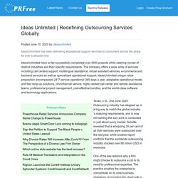 Redefining Outsourcing Services Globally