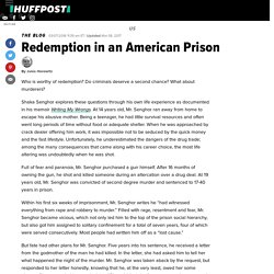 Redemption in an American Prison