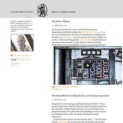 Reden ist Silber � Druckerey Blog: Seite 2