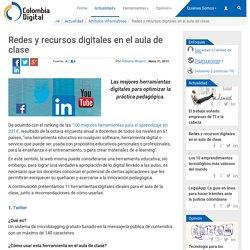 Redes y recursos digitales en el aula de clase