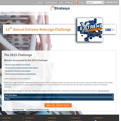 Extreme Redesign, 3D Printing & Product Design Competition