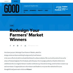 Redesign Your Farmers' Market Winners - Design