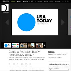 Could A Redesign Really Rescue USA Today?