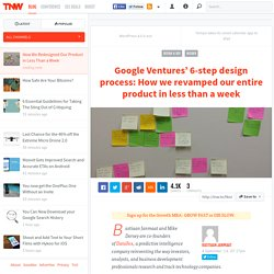 How We Redesigned Our Product in Less Than a Week