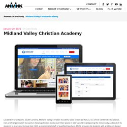 Animink redesigned responsive website for Midland Valley Christian Academy